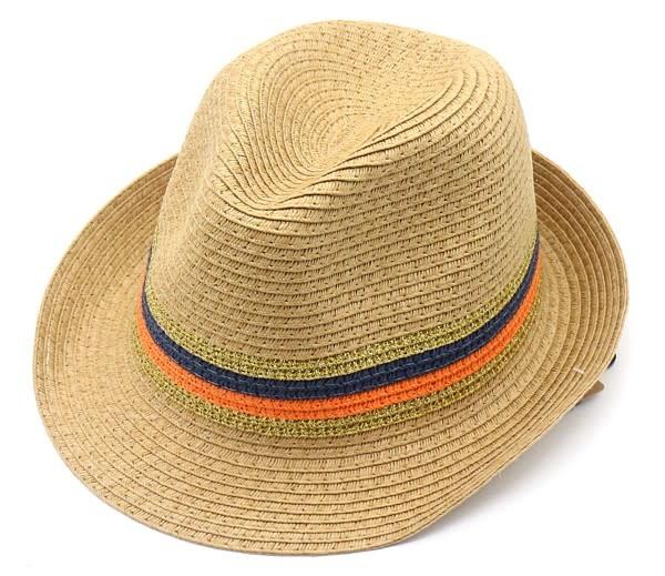 With love Summer hat beige