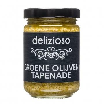 Delizioso Green olives tapenade 140 gr.