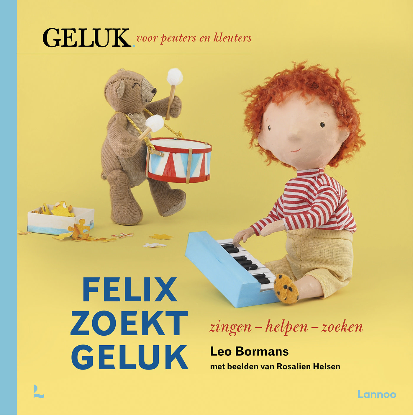 Lannoo Uitgeverij Felix zoekt geluk - zingen, helpen, zoeken