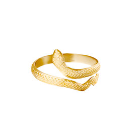 With love With Love ring - serpent gold