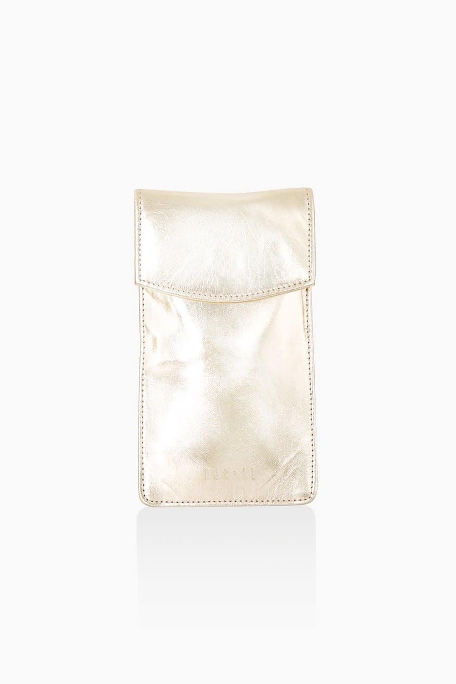 Détail Détail Charm phone bag - gold metallic 10 x 19 cm
