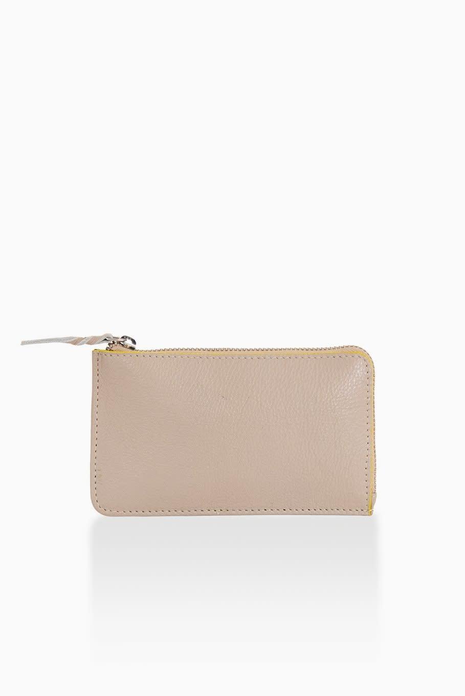 Détail Détail Fortune wallet - taupe 14 x 8 cm