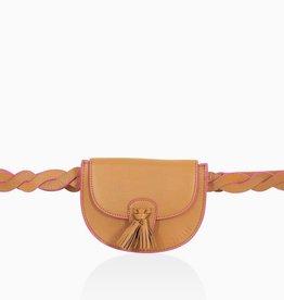 Détail Détail Victory crossbody bag - caramel 21 x 13 x 26 cm