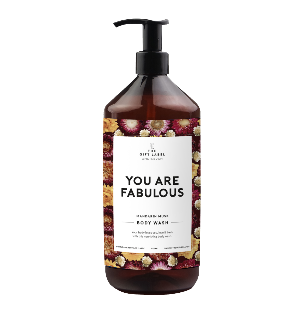 The Gift Label Body wash 1 liter - You are fabulous