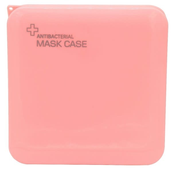 With love Protective Mask Case 13x13cm Pink