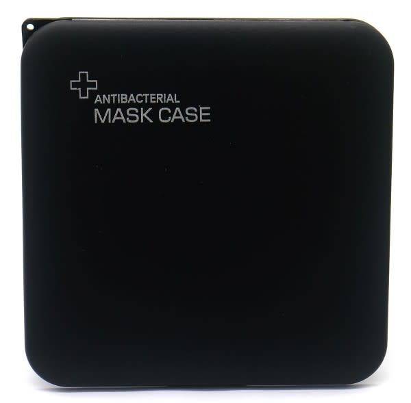 With love Protective Mask Case 13x13cm Black