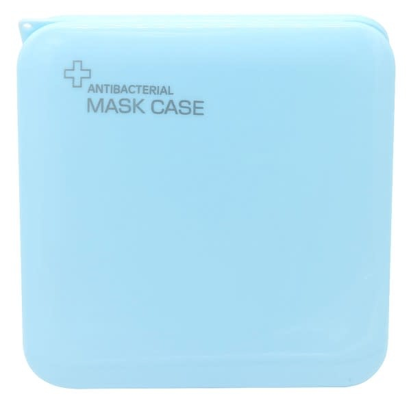With love Protective Mask Case 13x13cm Blue