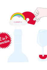 Legami Bottle stopper and drink markers - Rainbow