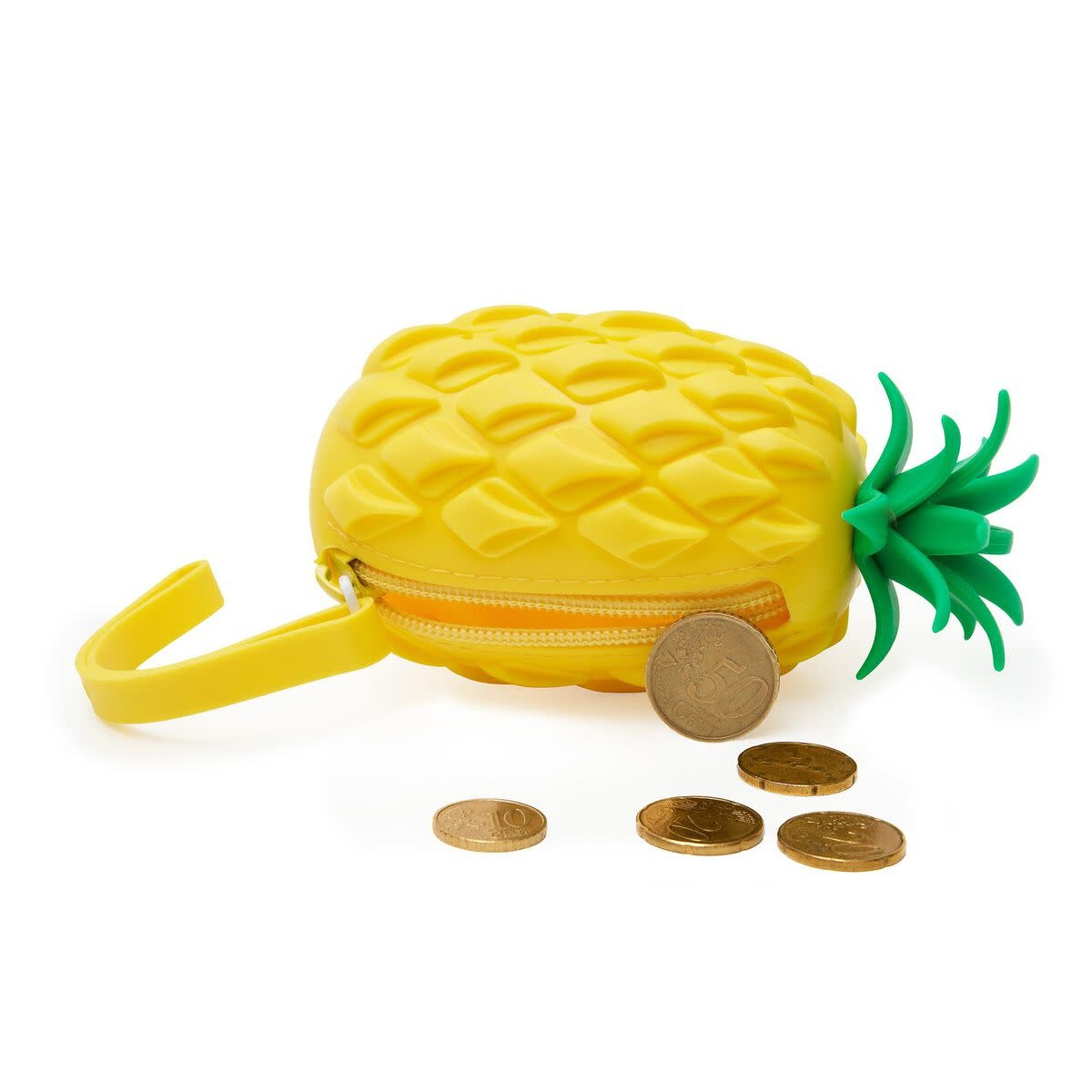 Legami Sillicone purse - Pineapple