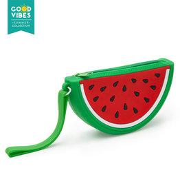Legami Sillicone purse - Watermelon