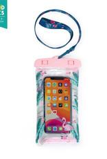 Legami Waterproof smartphone pouch - Flamingo