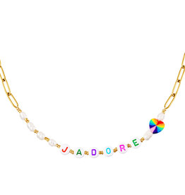 With love Necklace J'adore