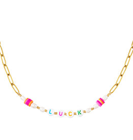 With love Necklace Luck