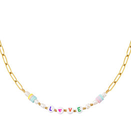 With love Necklace Love