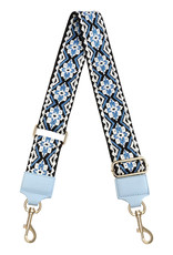 With love Bag strap - blue