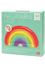Legami Inflatable lilo - Rainbow