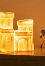 Little Lamp Company Castle lamp vanilla white 18 cm