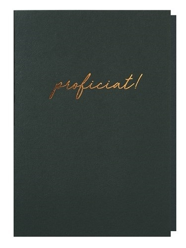 Papette Papette greeting card with enveloppe 'proficiat!'