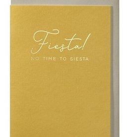 Papette Papette greeting card + enveloppe 'Fiesta, no time to siesta''
