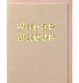 Papette Papette greeting card + enveloppe 'Whoop, whoop'