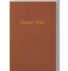Papette Papette greeting card + enveloppe ' Thank you!'