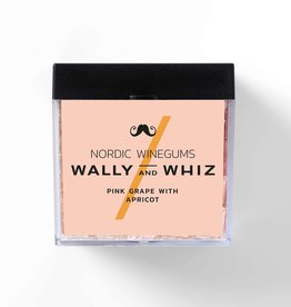 Wally and Whiz Cube 140 gr. Pink grape with apricot