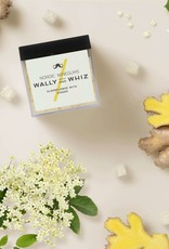 Wally and Whiz Cube 140 gr. Elderflower with ginger