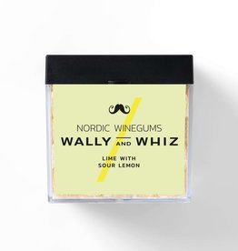 Wally and Whiz Cube 140 gr. Lime with sour lemon