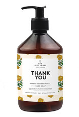 The Gift Label Hand soap  500 ml . - Thank you