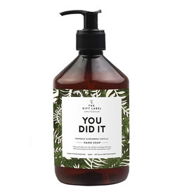 The Gift Label Hand soap  500 ml. - You did it
