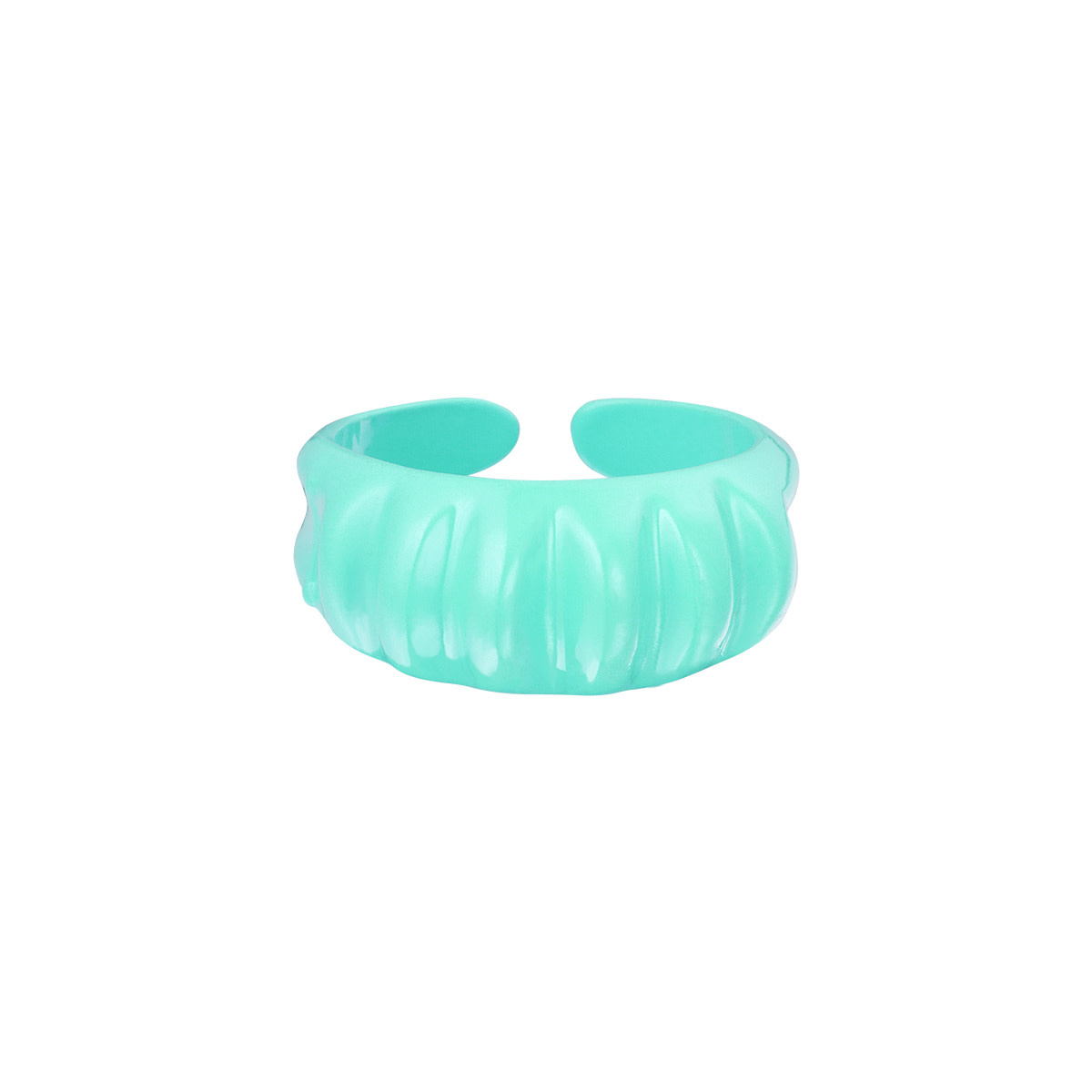 With love Ring - candy aqua