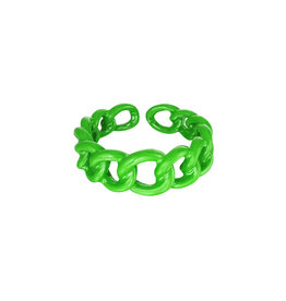 With love Ring - candy green