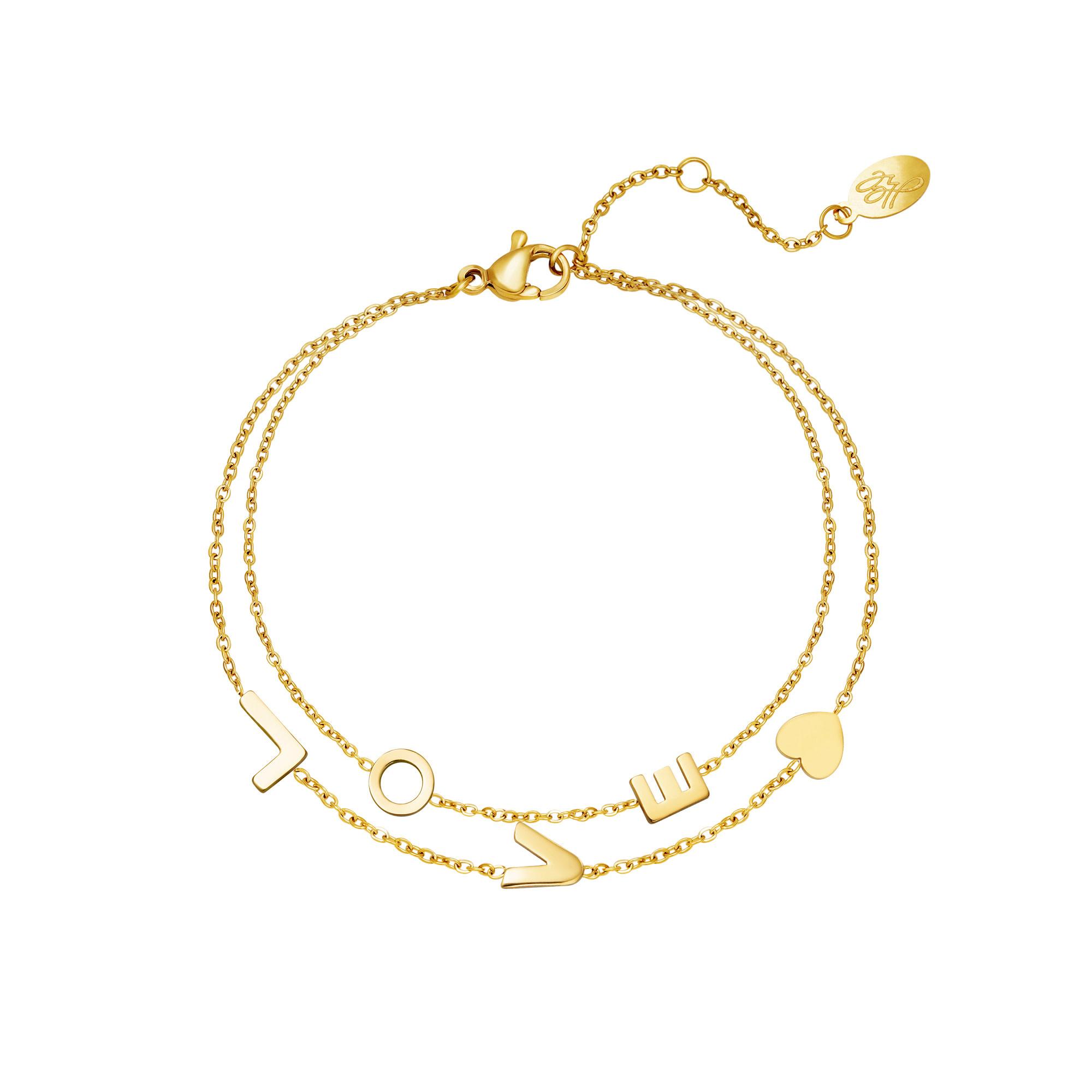 With love Bracelet Love