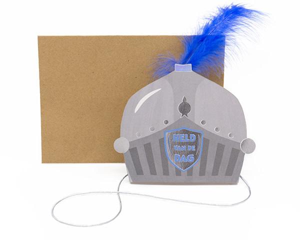 Enfant Terrible Enfant Terrible crown + enveloppe 'Held van de dag'