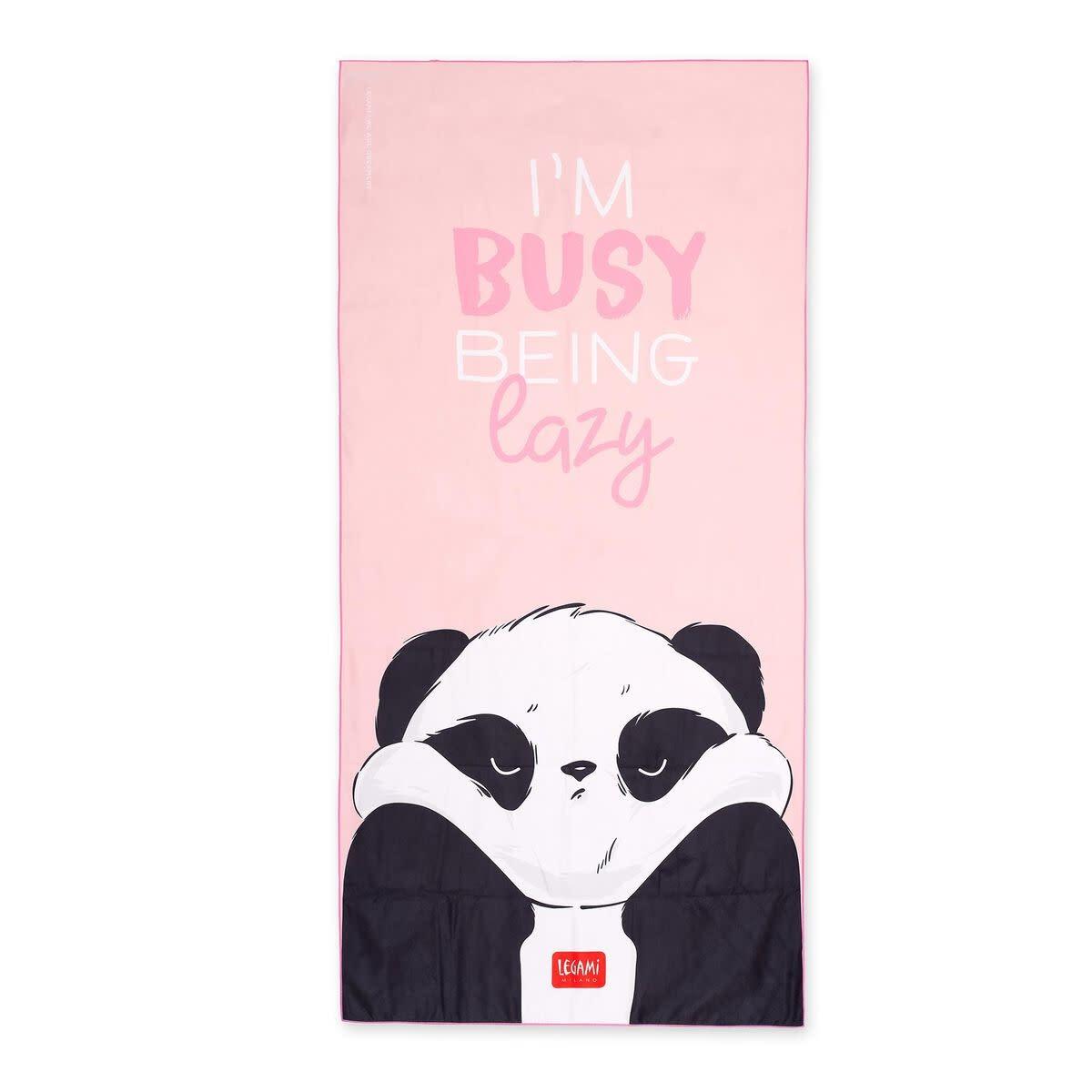 Legami Beach towel - Panda