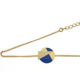 Nadja Carlotti Silver bracelet Lizzy - Blue