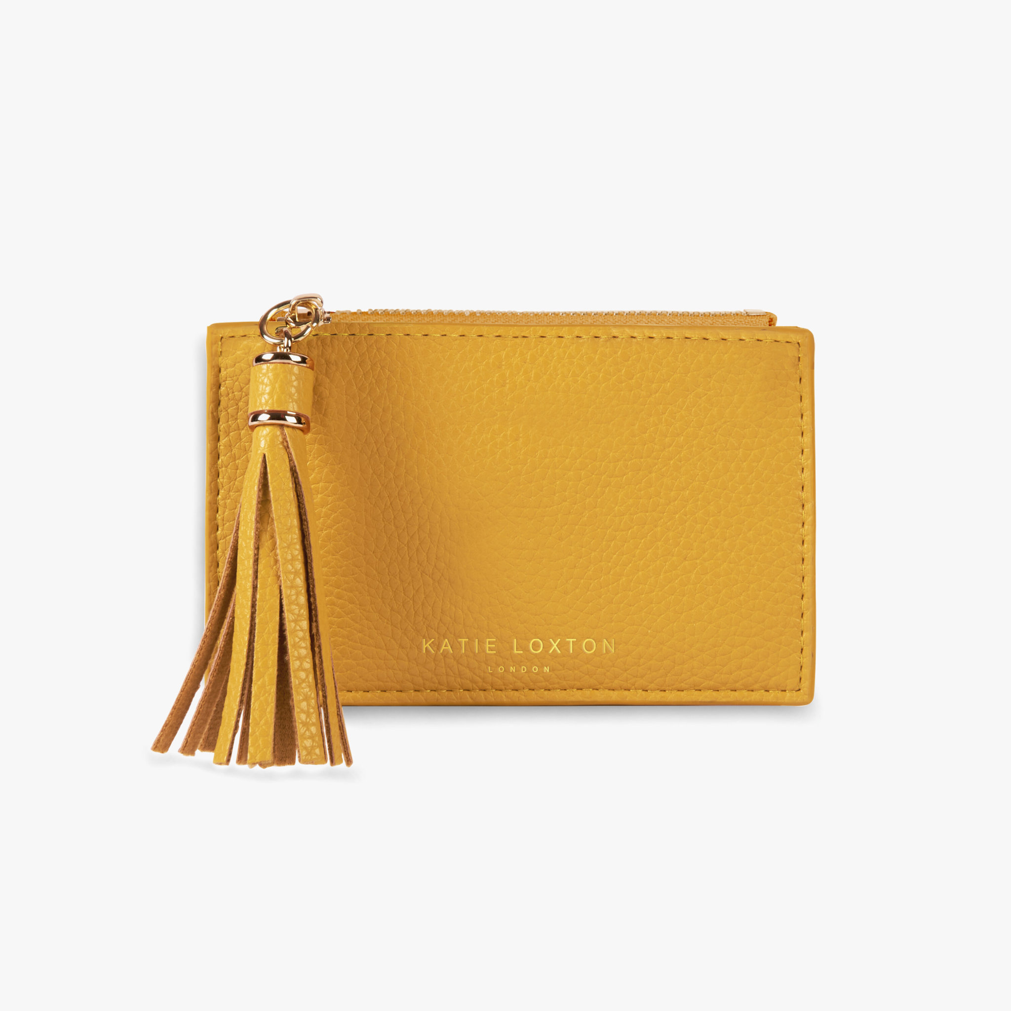 Katie Loxton Sophia tassel coin card purse - Ochre - 8.5 x 13.5 cm