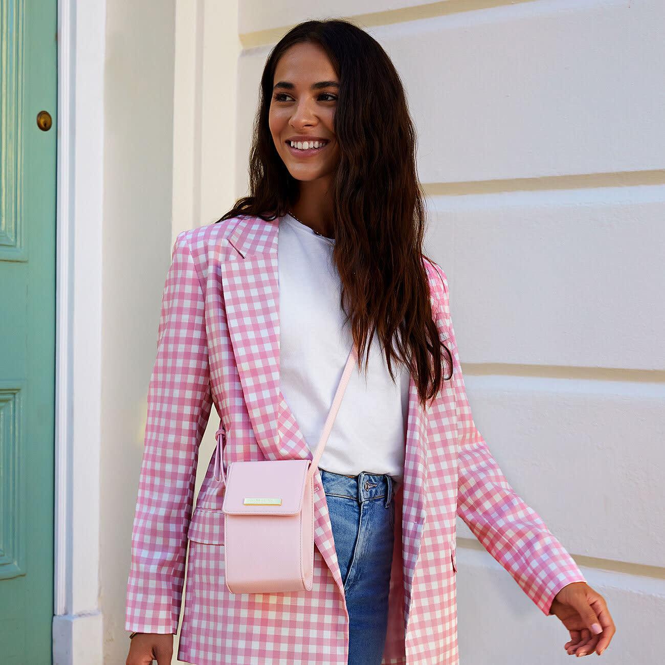 Katie Loxton Katie Loxton Taylor corssbody bag - Pale pink - 18.5 x 10.5 x 4.5 cm