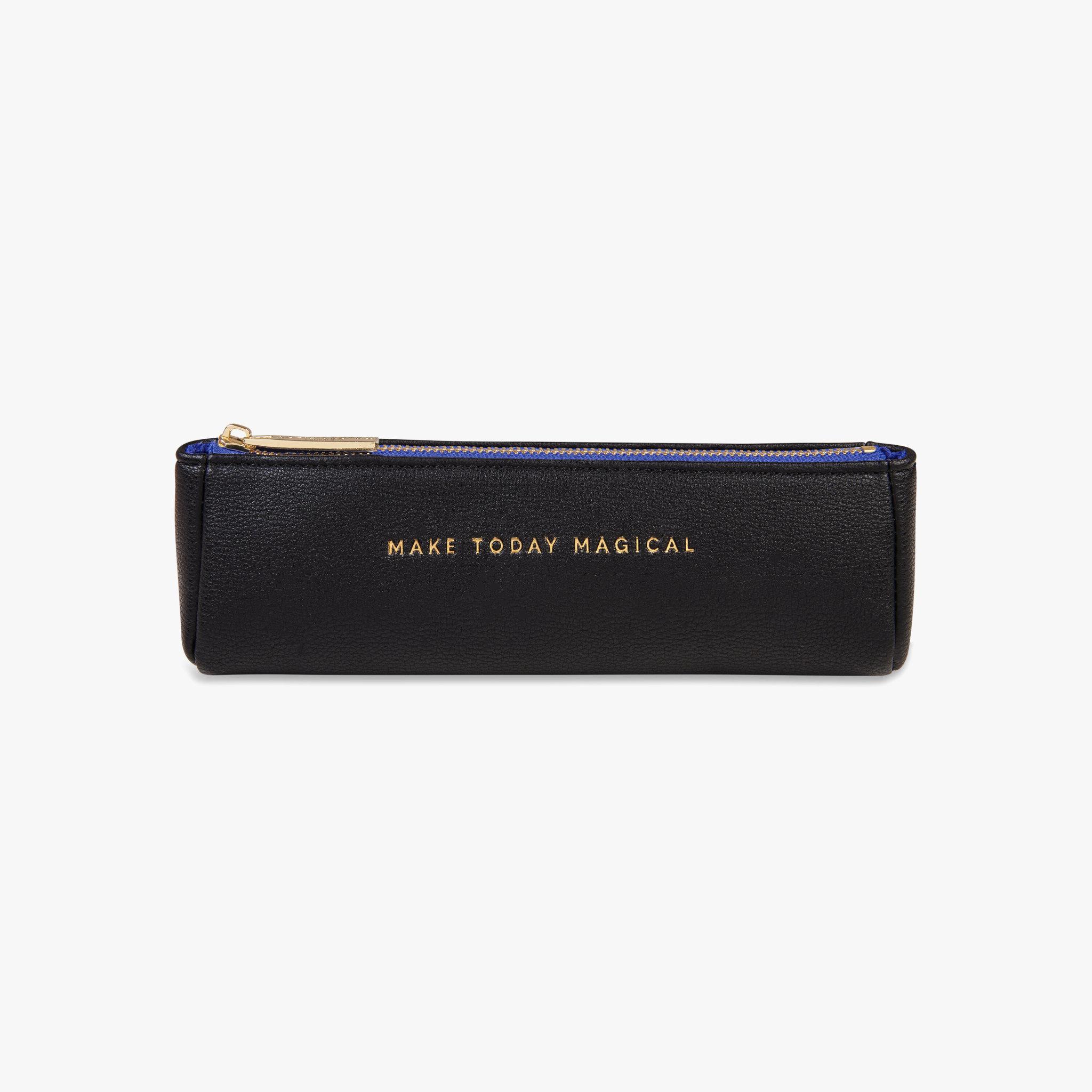 Katie Loxton Katie Loxton Pencil case - Make today magical - black 6 x 20 x 5 cm