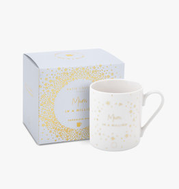 Katie Loxton Katie Loxton Boxed porcelain mug - Mum in a million 9.5 x 8.5 cm