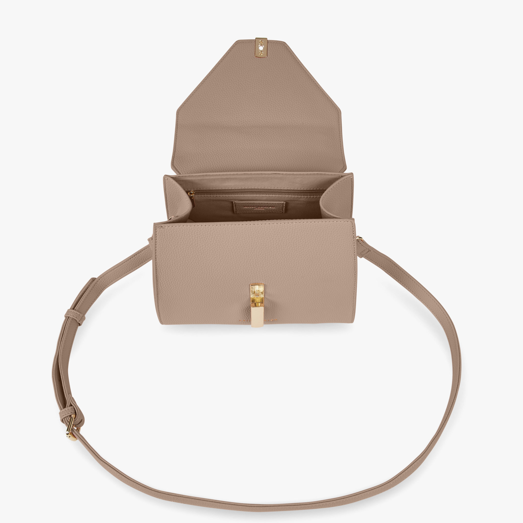 Katie Loxton Katie Loxton Casey top handle bag - Sand  & mint green - 19 x 24 x 13 cm