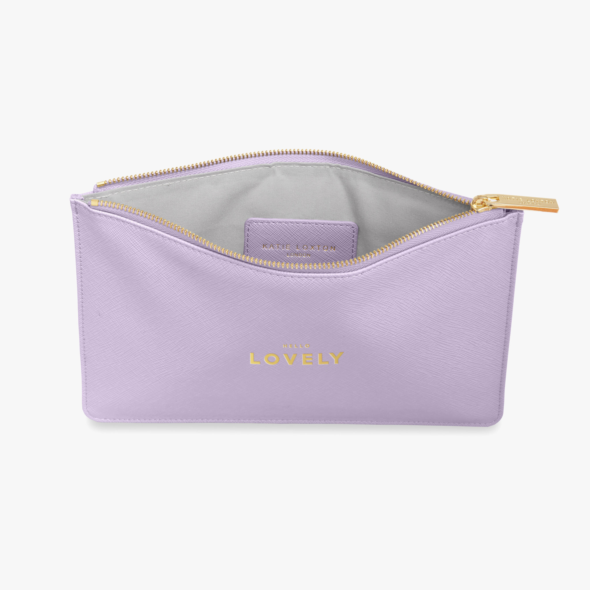 Katie Loxton Katie Loxton pouch - Hello lovely - Lilac - 24x16 cm