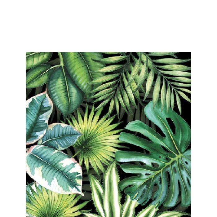 Ambiente 20 napkins tropical leaves 25 x 25 cm