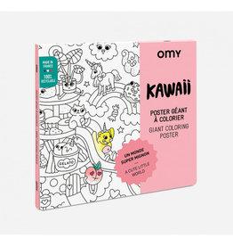 OMY Omy coloring poster 100 x 70 Kawaii