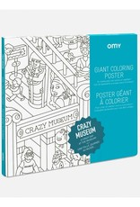 OMY Omy coloring poster 100 x 70 Crazy museum
