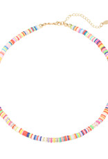 With love Necklace ride the waves - multi color