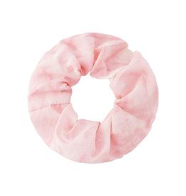 With love Scrunchie tie dye pink - white