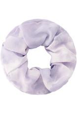 With love Scrunchie tie dye lilac - white