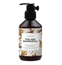 The Gift Label Hand lotion 250 ml.  - You are wonderful 21