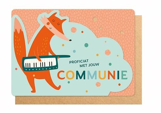 Enfant Terrible Enfant Terrible card  + enveloppe 'communie vos'